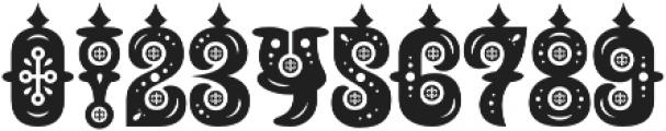 Buxotic Regular otf (400) Font OTHER CHARS