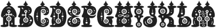 Buxotic Regular otf (400) Font UPPERCASE