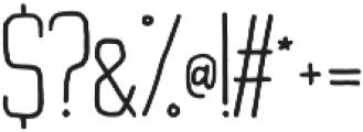 Buxton Regular otf (400) Font OTHER CHARS