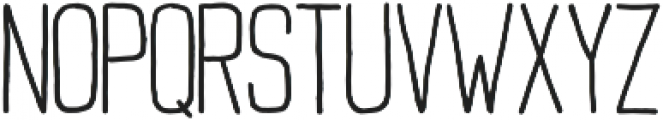 Buxton Regular otf (400) Font UPPERCASE