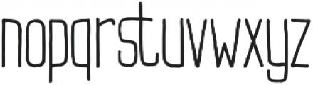 Buxton Regular otf (400) Font LOWERCASE