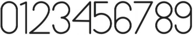 bunderan Regular otf (400) Font OTHER CHARS