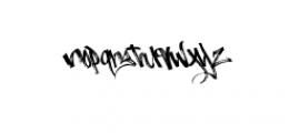 Burnts Marker Typeface Font LOWERCASE