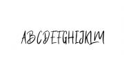Butter Luchy Font UPPERCASE