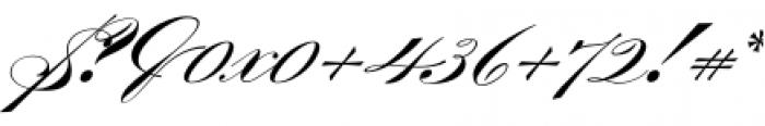 Burgues Script Font OTHER CHARS
