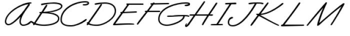 Business Casual Big Cap Alt Regular Font UPPERCASE