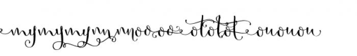 Butterfly Waltz Alt 2 Font UPPERCASE