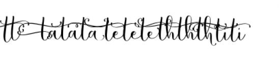 Butterfly Waltz Alt 2 Font LOWERCASE