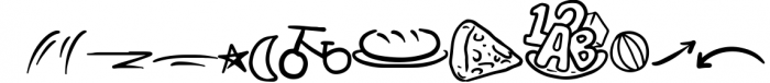 Bunglon Chameleon + Bonus Vector Font UPPERCASE