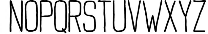 Buxton Font. Font UPPERCASE