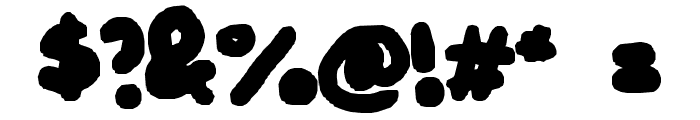 BUBBLEH Font OTHER CHARS