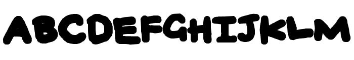BUBBLEH Font UPPERCASE