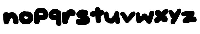BUBBLEH Font LOWERCASE