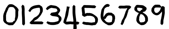BUDAK TADIKA Font OTHER CHARS
