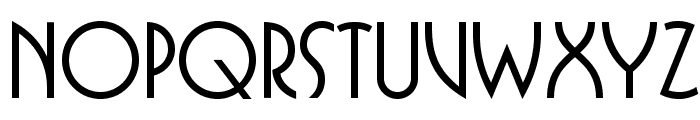 BUFferOpti-Medium Font UPPERCASE