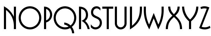 BUFferOpti-Medium Font LOWERCASE