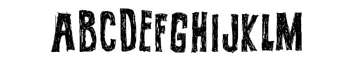 BUTECO  Font UPPERCASE