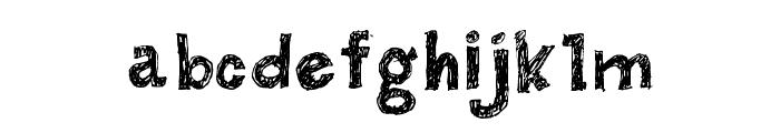 BUTECO  Font LOWERCASE