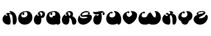 BUTTERFLY Bold Font UPPERCASE