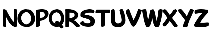 Bu Marker SC Bold Font UPPERCASE