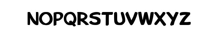 Bu Marker SC Bold Font LOWERCASE