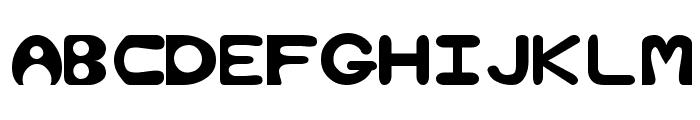 Bubble Regular Font UPPERCASE