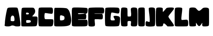 BubbleBaZ Font UPPERCASE