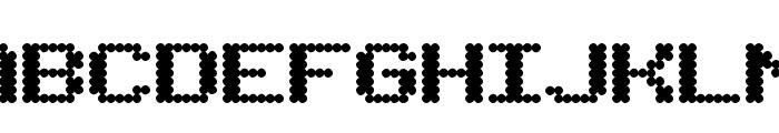 BubbleBath Font UPPERCASE