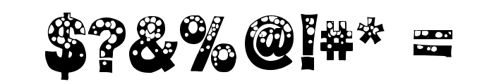 BubbleMan Font OTHER CHARS