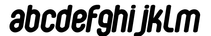 Bubbleboy Font LOWERCASE