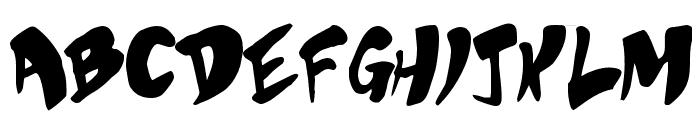 Bubblegum Superstar Font UPPERCASE