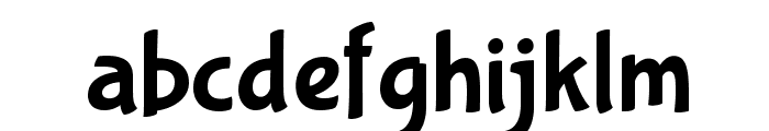 BubblegumSans-Regular Font LOWERCASE