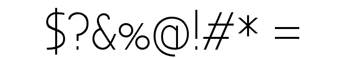 Bubbler One Regular Font OTHER CHARS