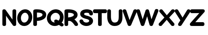 Bubblewump Font UPPERCASE