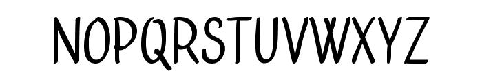 Bublina the Dog Font UPPERCASE