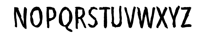 Bubu Ghost Font UPPERCASE