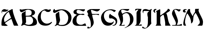 Bucephalus Font UPPERCASE