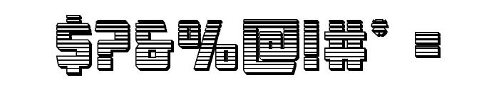 Buchanan Chrome Font OTHER CHARS