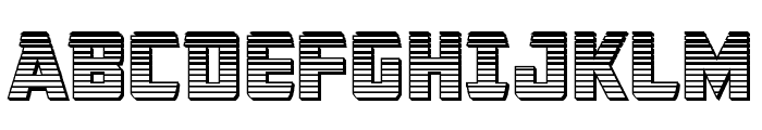 Buchanan Chrome Font UPPERCASE
