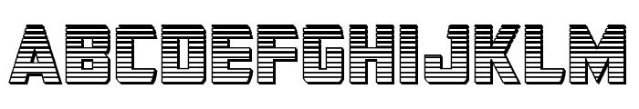 Buchanan Chrome Font LOWERCASE