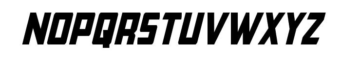 Buchanan Condensed Italic Font LOWERCASE
