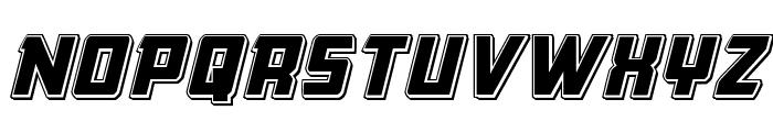 Buchanan Punch Italic Font UPPERCASE