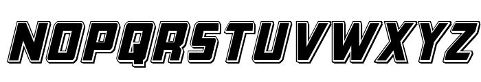 Buchanan Punch Italic Font LOWERCASE