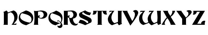 Buckingham Regular Font UPPERCASE