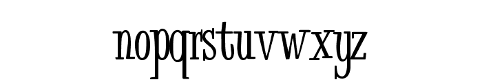 Bud Easy Medium Font LOWERCASE