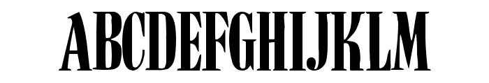 BudNull Medium Font UPPERCASE