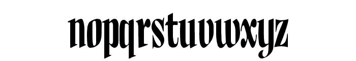 BudNull Medium Font LOWERCASE