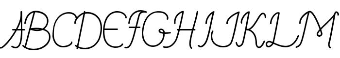 Budapest Font UPPERCASE