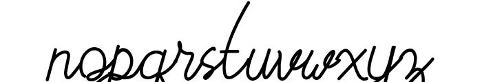 Budapest Font LOWERCASE