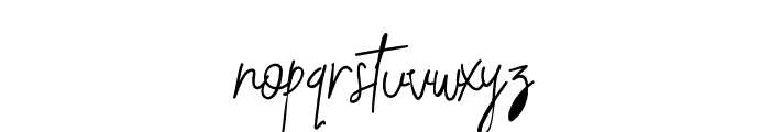 Budaphest Regular Font LOWERCASE